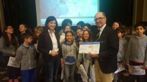 I bambini vincitori del concorso