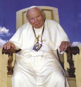 S. Giovanni Paolo II e lo scapolare