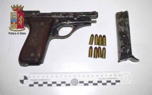 armi sequestrate pistola