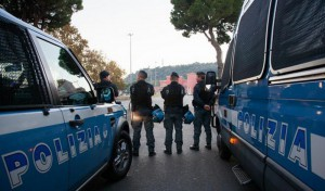 g7 polizia spiegamento