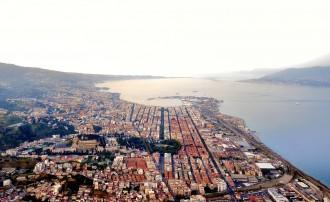 panoramica Messina giro d'italia Daniele Passaro