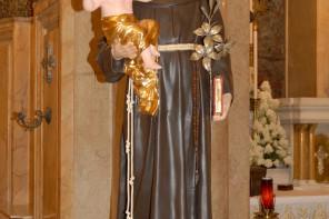 La statua di S.Antonio da Padova