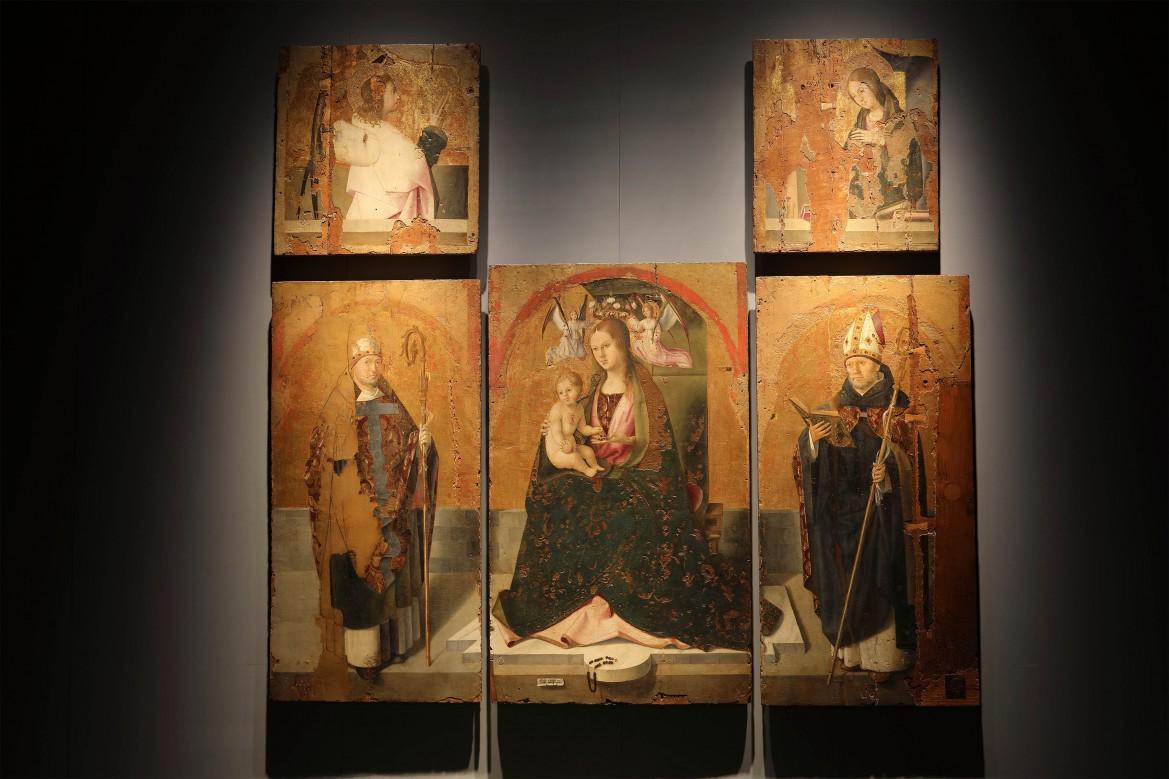 MuMe 14, Antonello da Messina, Polittico di San Gregorio (dat. 1473), ph. Parrinello