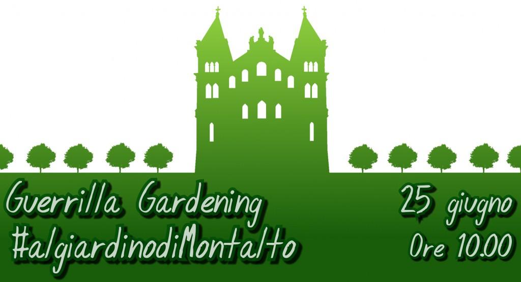 puli-amo messina - guerrilla gardening montalto
