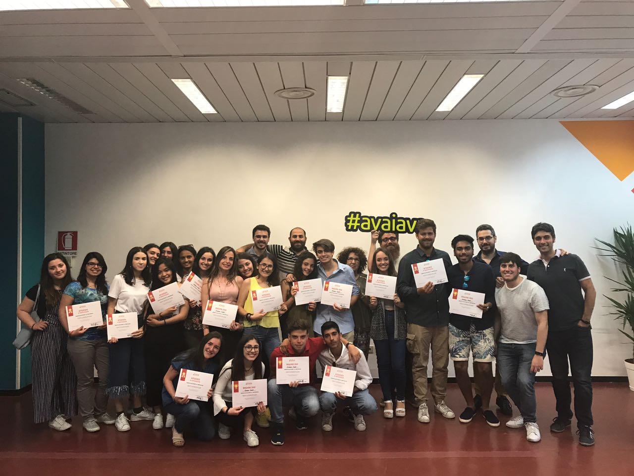 Foto gruppo Alternanza Scuola Lavoro