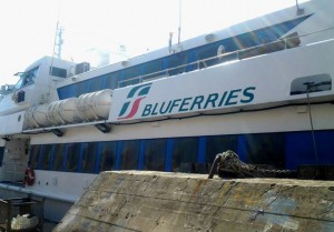aliscafo bluferries per nuovo