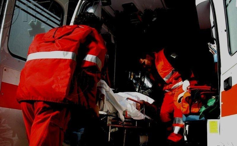 Foto di un'ambulanza
