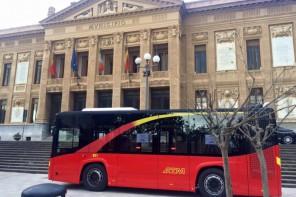 Foto autobus nuovi ATM Messina - Municipio