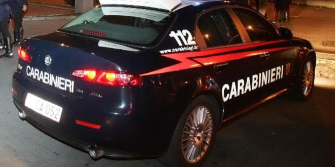 Foto di repertorio, volante dei Carabinieri