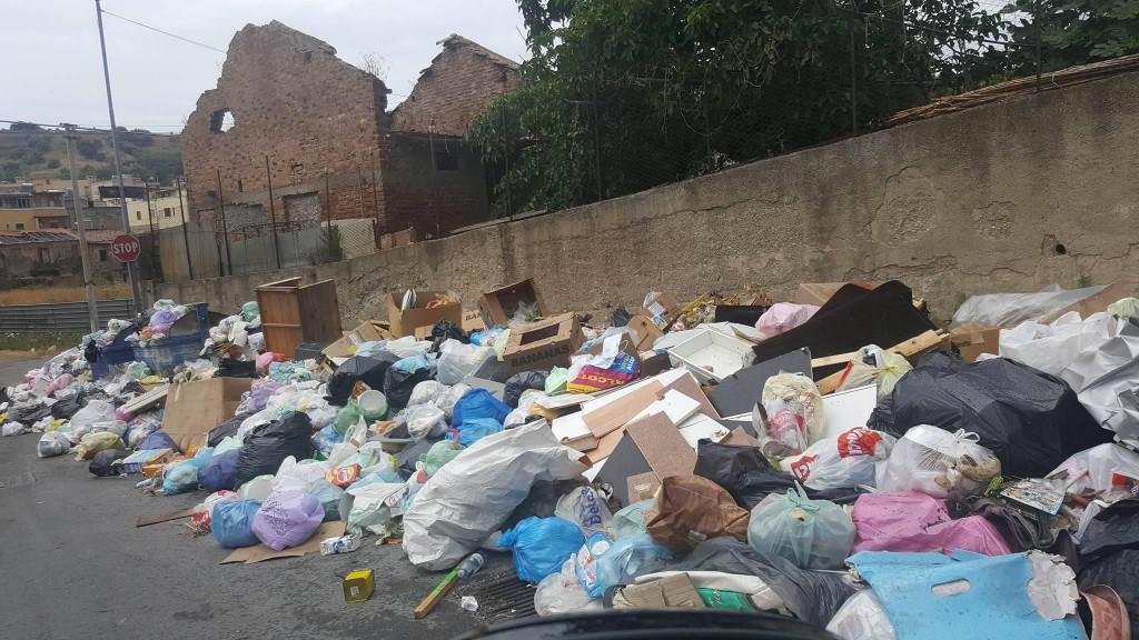 foto di rifiuti