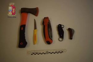 Rapina fattorino Messina - Foto oggetti sequestrati