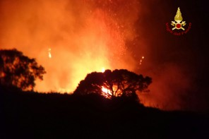 incendi a Messina