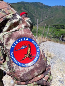 Foto effige Carabinieri Cacciatori di Sicilia
