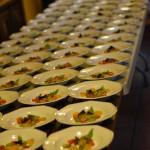 Foto pietanze pronte per essere servite - Evento slowfood Milazzo