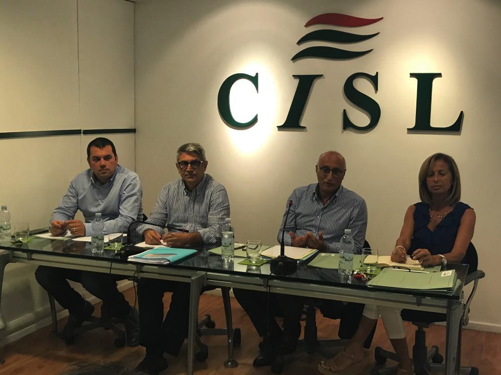 Incontro Cisl Messina - Occupazione e sviluppo - Foto 01