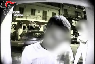 "Fermo immagine - Video Operazione ""De Greci"" Taormina"