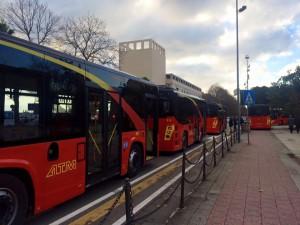 Foto dei bus atm