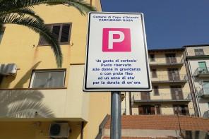 """Anche Capo d'Orlando ha i suoi """"parcheggi rosa"""""""