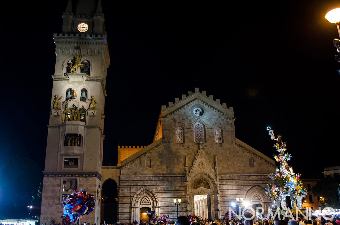 La Vara arriva a piazza Duomo - Messina
