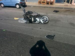 Foto 13 Scooter - Incidente sul viale della Libertà - Messina