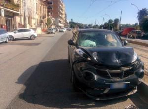 Foto 02 Nissan Juke - Incidente sul viale della Liberta - Messina