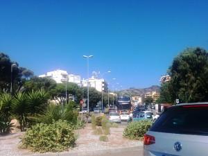 Foto 06 Traffico annunziata - Incidente sul viale della Liberta - Messina