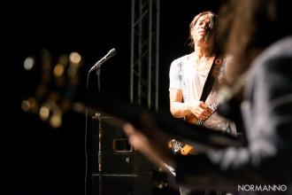 Foto di Stanlei Jordan durante la serata conclusiva del - Castroreale Milazzo Jazz Fest 2017