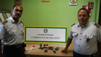 Foto della Guardia di Finanza della Compagnia di Milazzo