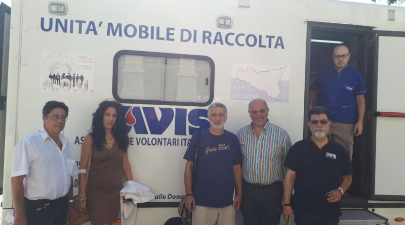 Foto campagna donatori sangue AVIS Messina - Agosto 2017