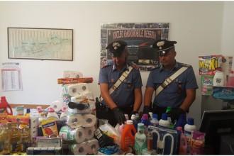 Carabinieri di Messina - refurtiva furto aggravato