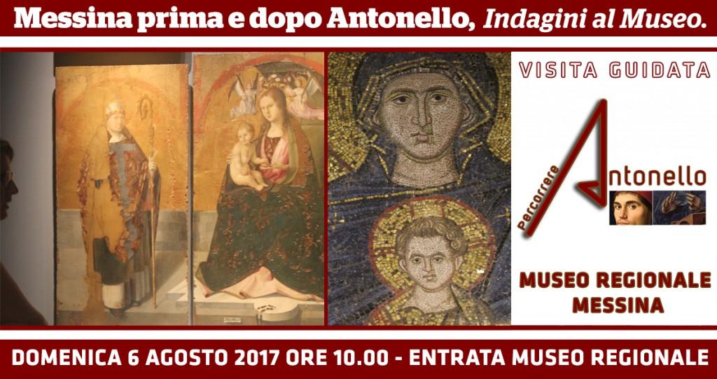 """Locandina dell'evento """"Bagliori al MuMe"""" organizzata da Percorrere Antonello"""