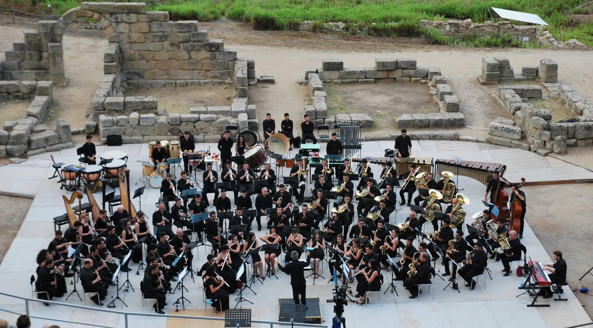 Foto di un concerto del Conservatorio A. Corelli