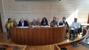 Foto della conferenza stampa di presentazione del Sabir Fest - Messina 2017