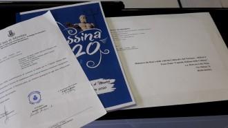 Foto del dossier inviato per la candidatura di Messina a Capitale della Cultura 2020