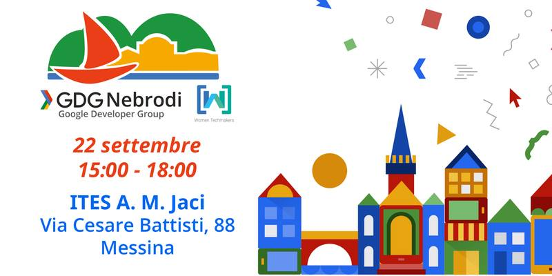 Locandina Google Developers Day Extended 2017 - Messina