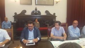 Foto della conferenza stampa di presentazione di Messina Street Food Fest 2017
