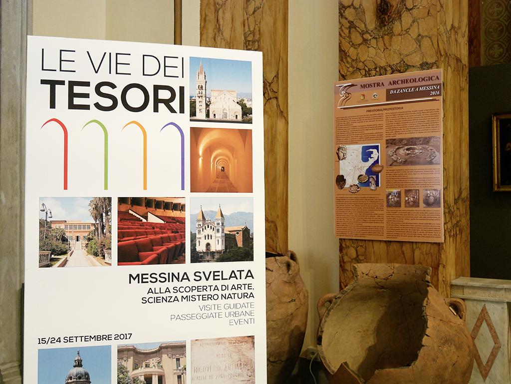 """Foto della conferenza stampa de """"Le vie dei Tesori"""" - Messina"""