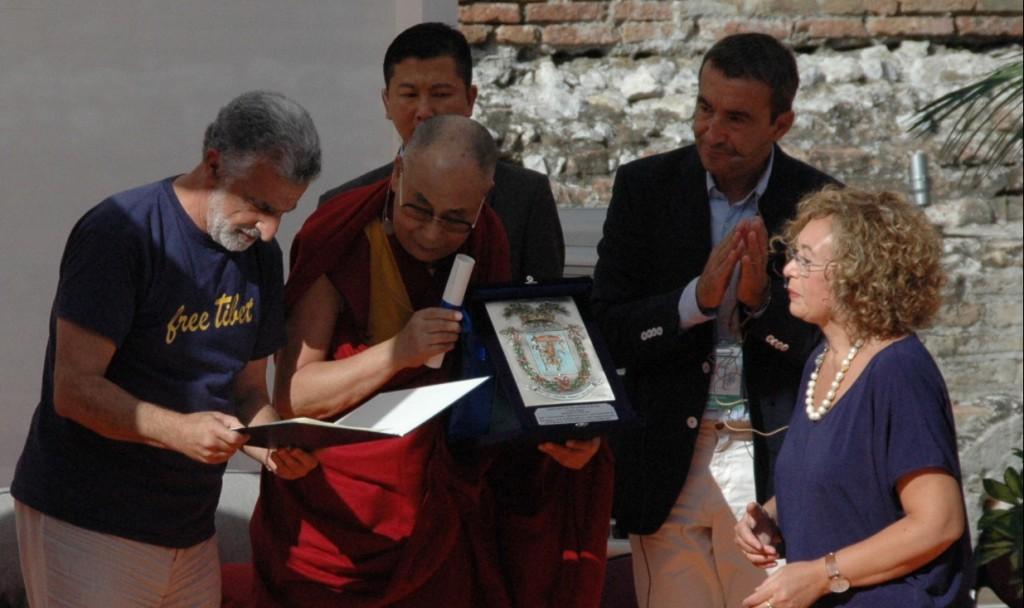 Foto 01 - Dalai Lama a Taormina, 16 settembre 2017