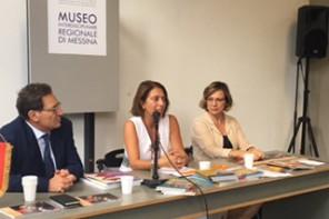 Crocetta presenta il nuovo Assessore Regionale alla Cultura, Aura Notarianni