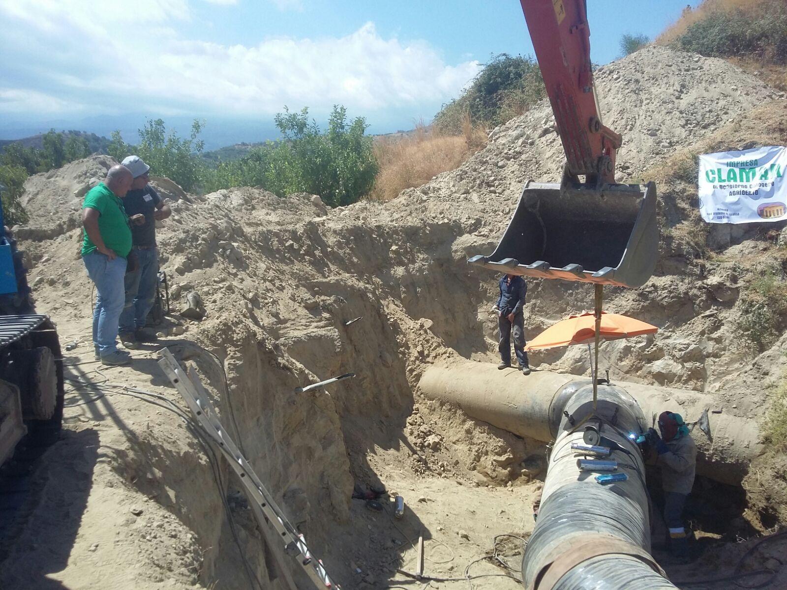 Lavori alle condotte idriche, l'Amam dispone un piano di razionamento a Messina