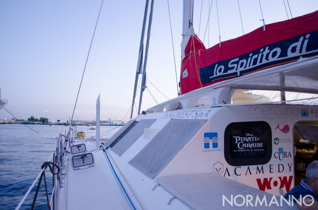 Foto 01 del catamarano accessibile Lo spirito di Stella