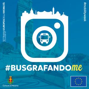 Logo del contest fotografico busgrafandoMe - Messina