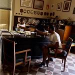 Foto dello studio del Commissario Montalbano - Viaggio in Sicilia