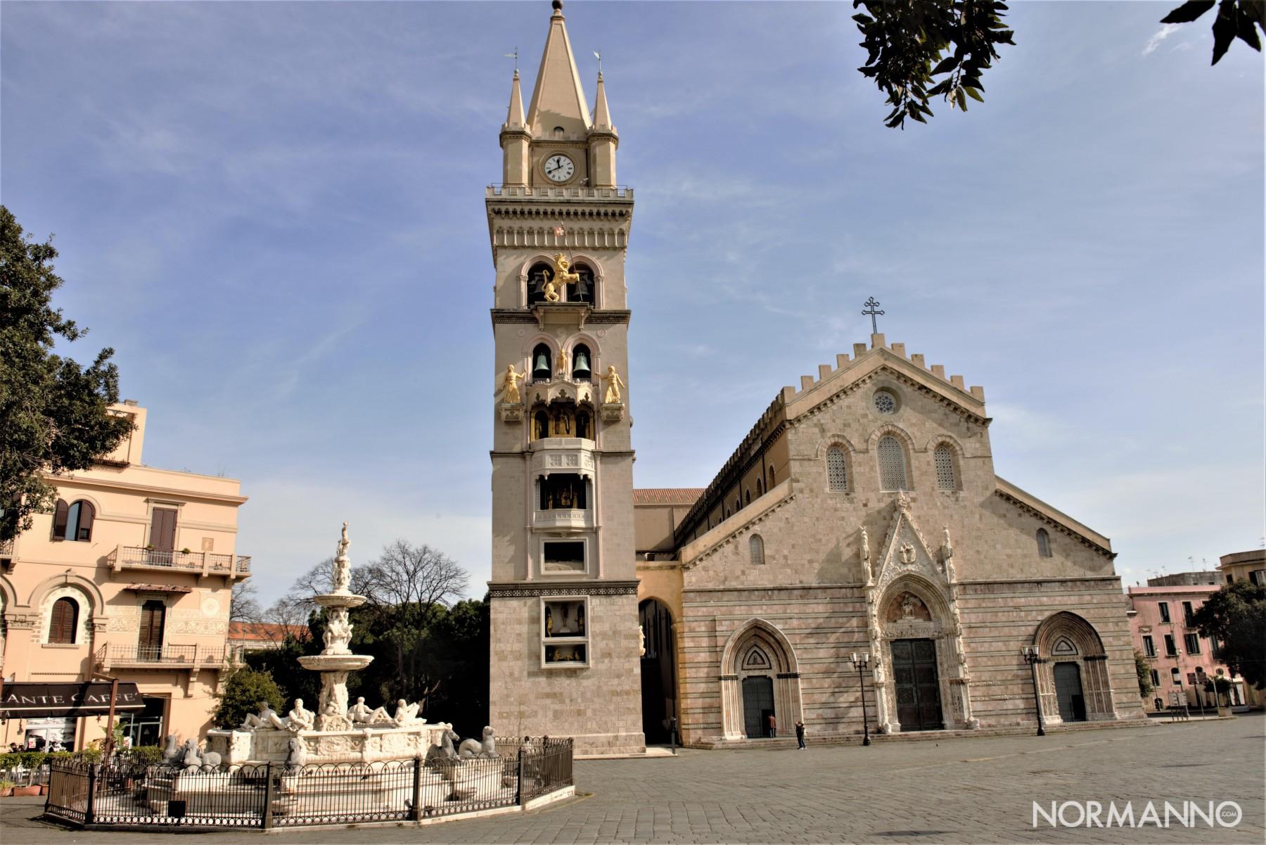 Foto del duomo di Messina