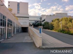 Foto ingresso ex-Facoltà di Ingegneria, polo Papardo - Università di Messina
