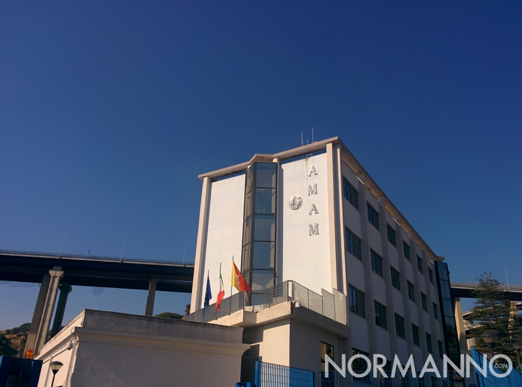 Foto della sede principale di AMAM a Messina