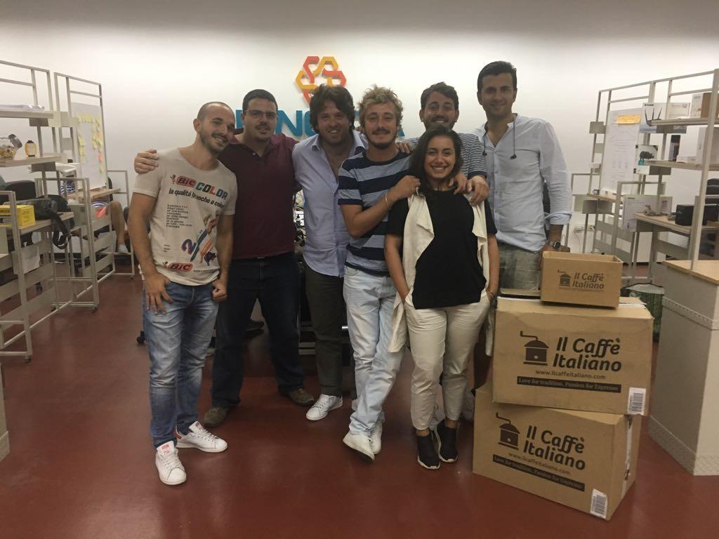 Il team de Il Caffè Italiano
