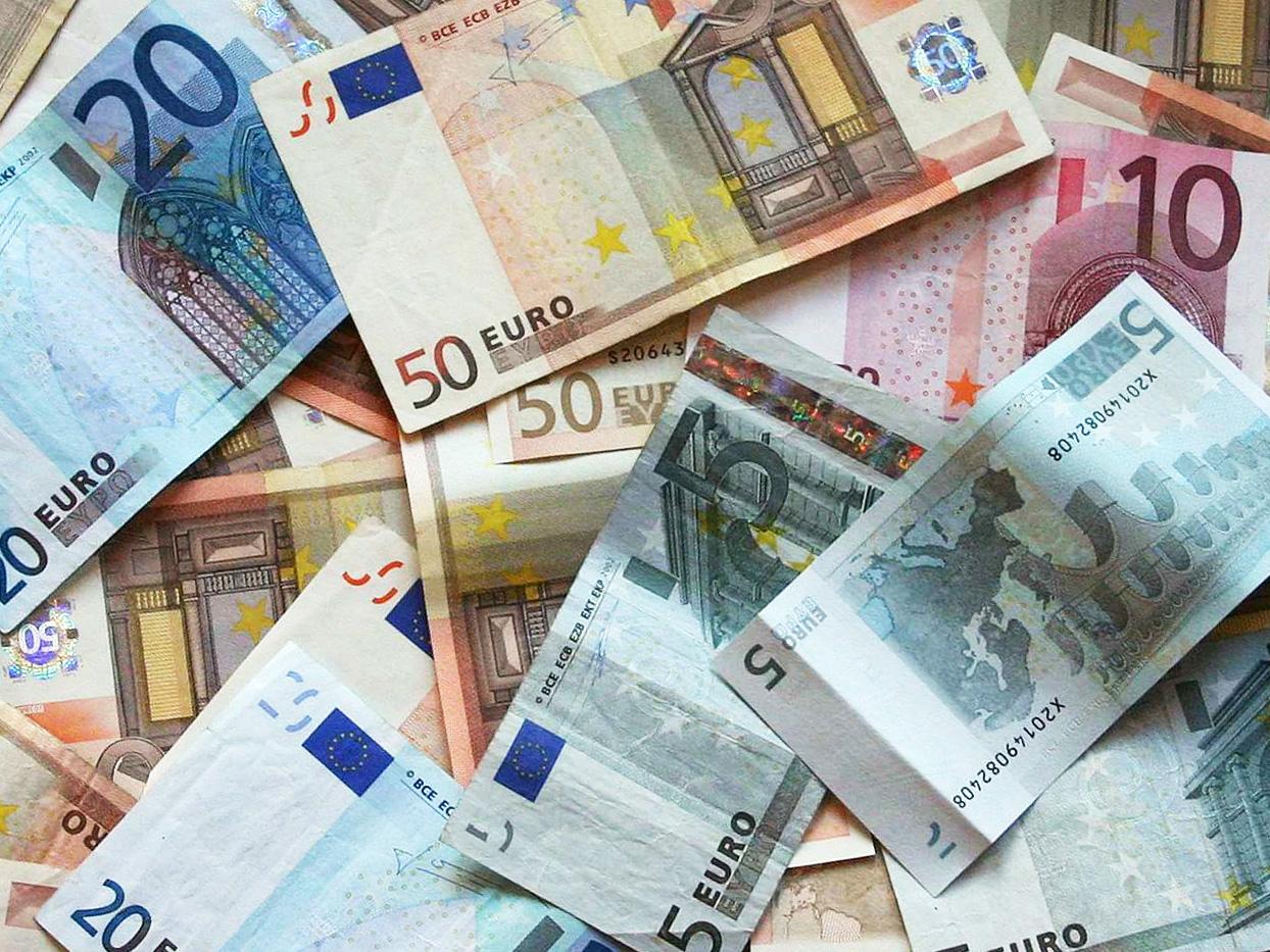 Foto di repertorio - Valuta europea