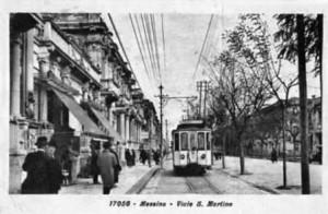 tram elettrici a Messina nel 900
