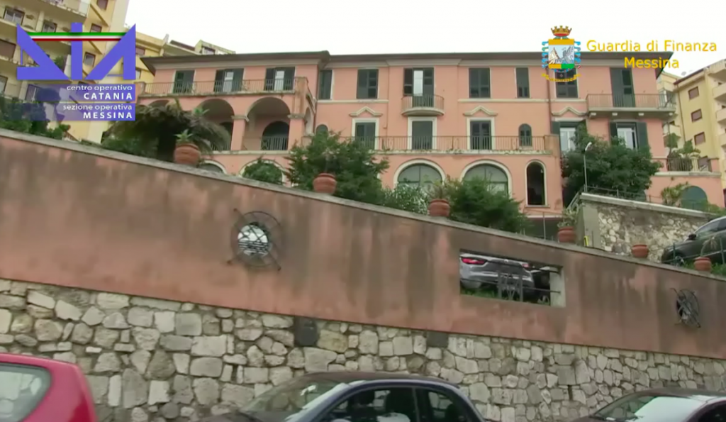 video-dia-polizia-gdf-sequestro-villa-cappellani-messina